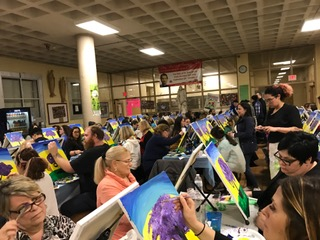 Salesian Paint Night 2