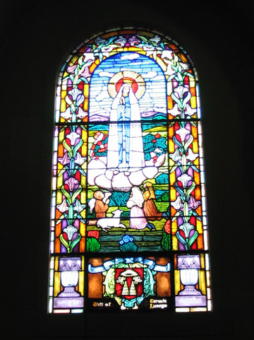 MtCarmelStained Glass