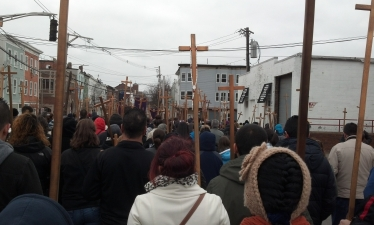 Good Friday in East Boston