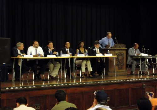Candidates at East Boston Mayoral Forum