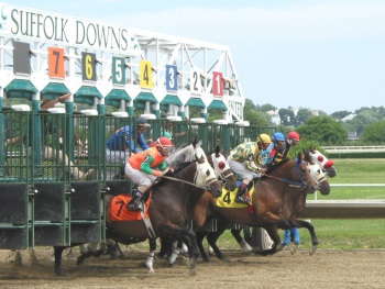 Suffolk Downs in East Boston