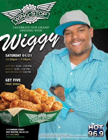 Jermaine Wiggins at Wing Stop