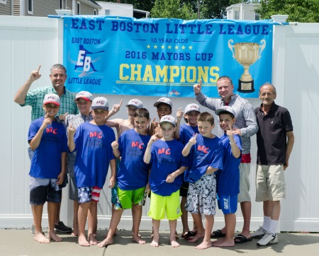 EAST BOSTON ALLSTAR TEAM WINS MAYOR�S CUP